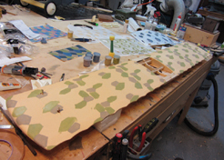 How to: WWI Warbird Lozenge Camouflage Covering