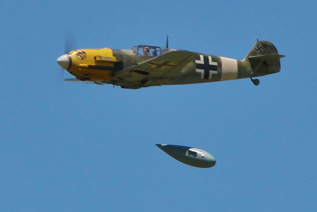 Jeff Foley's implausible BF-109E warranted 2nd in a Masters class.