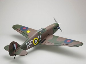 Kyosho Warbird Hawker Hurricane GP50 ARF (5)