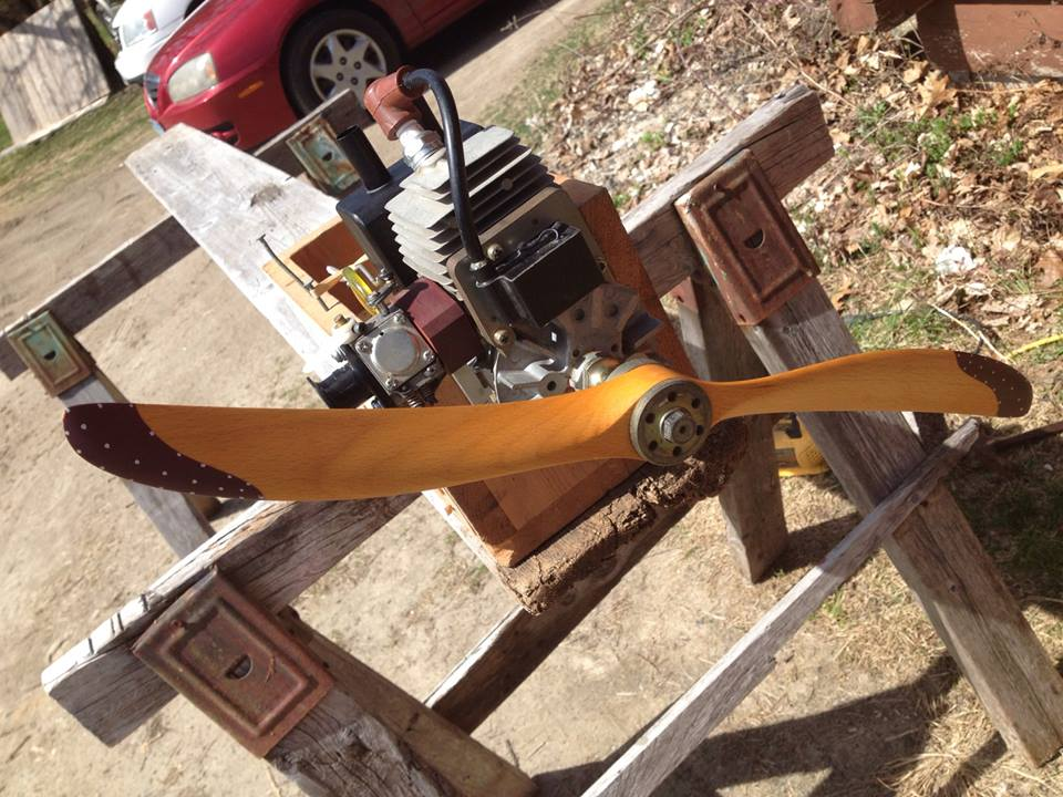 Build-Along -- Sopwith Camel -- Update: Engine and Fuel System Check radio control RC