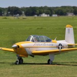 Mike Barbee's T-34B, Top Gun 2013 leader for Best Gas Performance.
